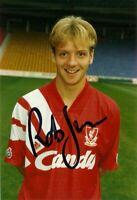 Rob Jones Official Liverpool FC Hand Signed Photo Season 1991/92 Very Rare
