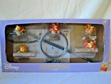 Disney Vintage Winnie The Pooh 4 Piece Bathroom Accessory Set Tigger 604 396 NEW