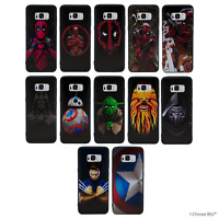 Marvel Coque/Etui/Case pour Samsung Galaxy S6/S7/Edge/S8/S9/Plus / Silicone Gel