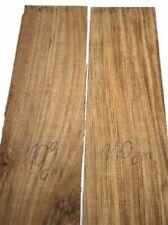 Zebreli Zebrano Brett Zebrawood 110x22cm 25mm