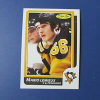 MARIO LEMIEUX 1986-87 O-Pee-Chee # 122  OPC  Pittsburgh Penguins NM/MT ++ 1987