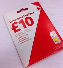 Vodafone SIM Card. 3G/4G Pay As You Go Vodaphone Nano/Micro/Standard Multi SIM