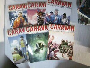 CARAVAN serie completa 12 albi Sergio Bonelli Editore miniserie