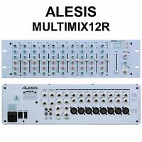 ALESIS MULTIMIX 12R Compact 12 Channel Stereo 3 Space Rackmount Mixer