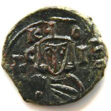 Leo V The Armenian (Ô¼Ö‡Õ¸Õ¶ Ôµ Õ€Õ¡Õµ) 813-820, Syracuse Cross.20 mm,Constantinople,3.0