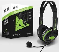 Official Elgetec Stereo Gaming Headset for Xbox One S / X / PS4 Headphones & Mic