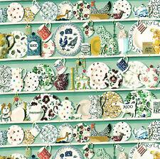 3 hojas de papel tapiz de Casa de Muñecas Escala 1/12th Papel de Calidad de cocina verde #332