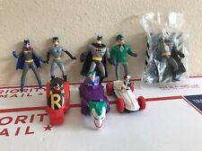 1993 McDonald's Batman 8  toys  Happy Meal Animated series figures DC Comics
