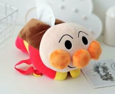 Anpanman orange fuzzy tissue box cartoon cover tissue holder fuzzy  new