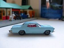 Corgi Toys 245 Buick Riviera in pale blue / button hook