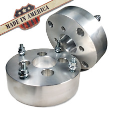 4x100 to 4x110 US Wheel Adapters 2 Inch Thick 12x1.5 Lug Studs Spacers x 2 Rims
