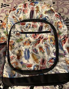 Disney Ink and Paint Backpack Brer Fox & Brer Rabbit sleeping beauty rare
