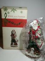 "Fitz and Floyd 2013 Santa Claus Winter Holiday Musical O Holy Night 10"" Figure"