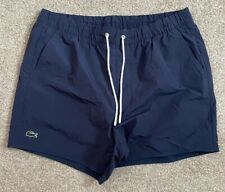 GORGEOUS LACOSTE LIVE NAVY SWIMMING SHORTS L LARGE