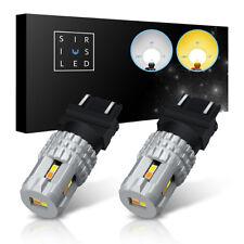 SiriusLED 3157 4157 White Yellow Switchback LED - Fog Turn Signal DRL Tail Bulb
