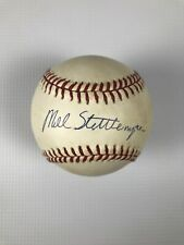 Yankees and Mets Mel Stottlemyre Signed Official National League Baseball