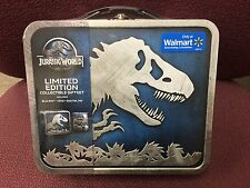 Jurassic World Limited Edition Exclusive Gift Set Blu-ray + DVD + HD in Lunchbox