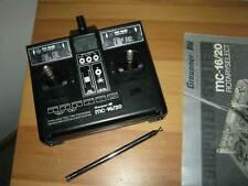 Graupner Sender MC 16 / 20  35 Mhz  mit Akku