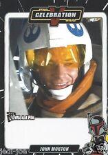 John Morton Official Pix Star Wars Autograph Trading Card Celebration V Exc