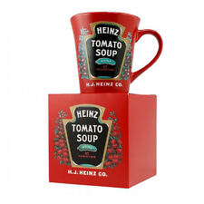 HEINZ TOMATO SOUP MUG CERAMIC COFFEE TEA CUP GIFT RETRO VINTAGE RED SAUCE 57