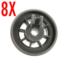 8X Dishwasher Rack Roller Wheels For Creda Hotpoint Indesit P/N C00210742 Bottom