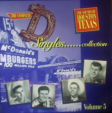 4erCD-Box THE COMPLETE D SINGLES COLLECTION Volume 5 - sound of houston texas