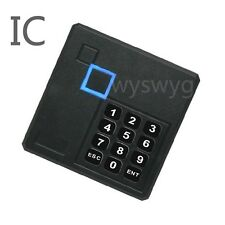 Weatherproof IC Reader Keypad 13.56MHz S50 MF1 Wiegand26 For Access Contro