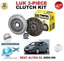 FOR SEAT ALTEA XL 1.6 1.9 TDi 2.0 FSi 2006-ON ORIGINAL LUK 3 PIECE CLUTCH KIT