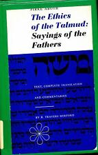The Ethics of the Talmud : Sayings of the Fathers by R. Travers Herford