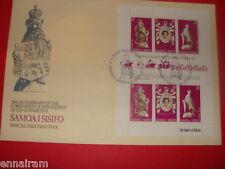 Queen Elizabeth II Silver Jubilee FDC 25 Coronation Samoa I Sisifo 1978 #1