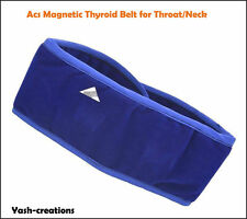 Acs Magnetic Pyramid Therapy Thyroid Neck Belt -Thyroid Throat Tonsils Belt.