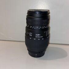 SIGMA AF Zoom 70-300mm F/4-5.6 DL Macro Super Autofocus Lens KAF for Pentax AF