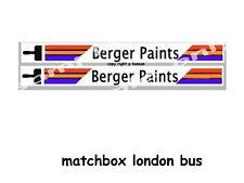MATCHBOX LONDON BUS BERGER