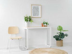 Porto Console Table - White | Hallway Storage Table