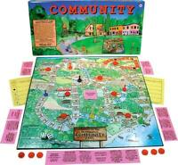 Vintage COMMUNITY A Cooperative Game Board Game Family Pastimes 1971 NIB
