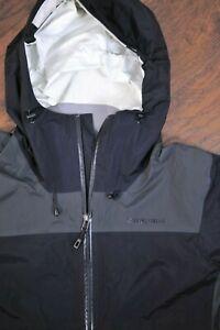 Patagonia Torrentshell Plus H2No Rain Jacket Black Men's Medium M