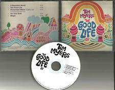 OneRepublic member TIM MYERS w/ Schuyler Fisk THE GOOD LIFE EP CD 2008 MINT