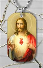 Jesus Christ son of God DOG TAG PENDANT NECKLACE FREE CHAIN -mnb8Z