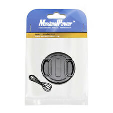 MaximalPower 49mm Lens Cap Snap-on Cover for Canon Olympus Nikon Cameras