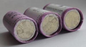 ESTONIA LATVIA LITHUANIA 2 € Euro commem coin ROLL SET 2018 - Baltic states100