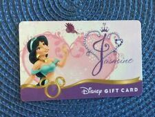Jasmine Disney gift card collectible only-  no $ value or points on it