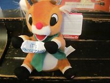 """Rudolph the Red Nosed Reindeer """"Shakers"""" shaking plus toy plays music"""