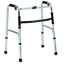 Lightweight aluminium folding mobility zimmer walking frame height adjustable