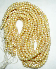 Natural Vanilla Gold Freshwater Pearls, 4-5mm - 14.5 inch strand
