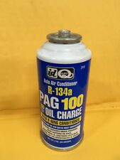 Quest Auto Air Conditioning R-134a Pag 100 Oil Charge With O-ring Conditioner.
