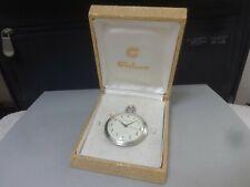 Vintage 1966 CITIZEN mechanical pocket watch [Citizen Pocket Watch] 17J Cal.0201