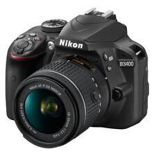 Nikon D3400 24.2 MP Digital SLR Camera with 18-55mm f/3.5-5.6G VR AF-P DX Lens