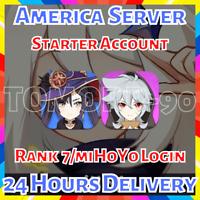 [America/NA] Genshin Impact Mona Razor Starter Account