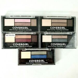 COVERGIRL Eye Shadow Quad Palettes - CHOOSE YOUR SHADE