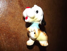 "Vintage Made in Japan approx 4""H cute colorful puppy dog figurine"